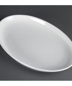 Olympia French Deep Oval Plates 365mm
