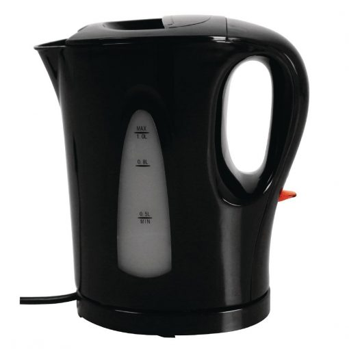 Caterlite Hotel Room Kettle 1Ltr Black