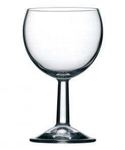 Olympia Boule Wine Glasses 250ml CE Marked at 175ml