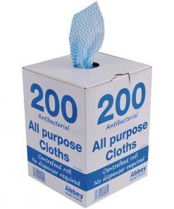 Jantex Antibacterial All Purpose Cloth Blue