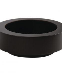 APS Frames Dark Wood Small Round Buffet Bowl Box