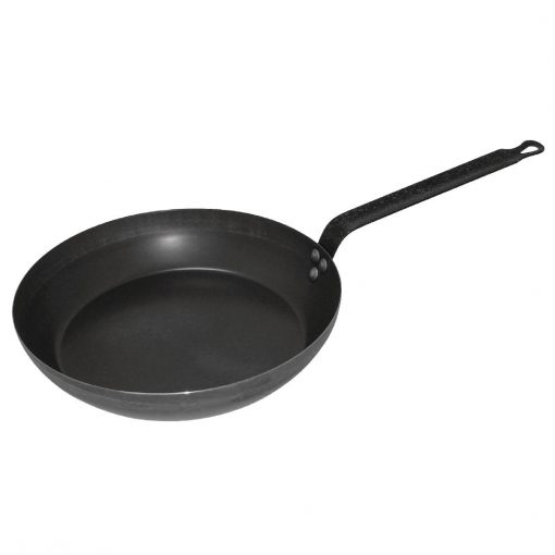 Vogue Black Iron Induction Frying Pan 180mm