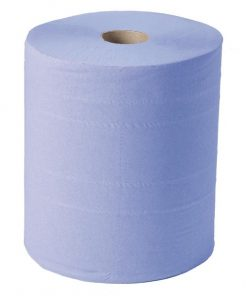 Jantex Blue Maxi Wiper Roll 2ply 2 Pack