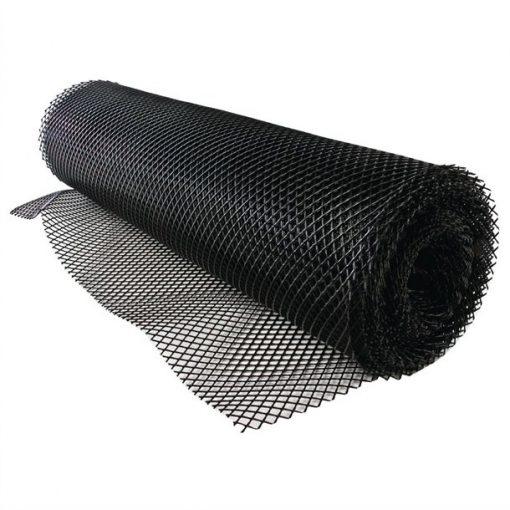 Bar Shelf Liner Black 10m