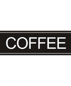 Airpot Coffee label