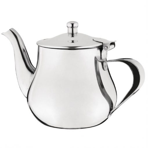 Olympia Arabian Tea Pot Stainless Steel 18oz