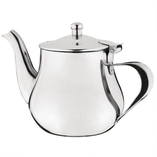 Olympia Arabian Tea Pot Stainless Steel 18oz