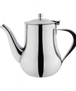 Olympia Arabian Coffee Pot Stainless Steel 35oz