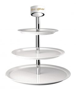 APS Melamine 3 Tier Cupcake Stand and Sign
