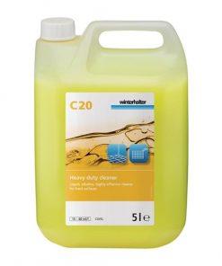 Winterhalter C20 Heavy Duty Cleaner 5 Litre (Pack of 2)