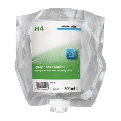 Winterhalter H4 Hand Sanitiser 800ml (Pack of 4)