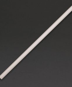 Fiesta Green Compostable CPLA Smoothie Straws Clear