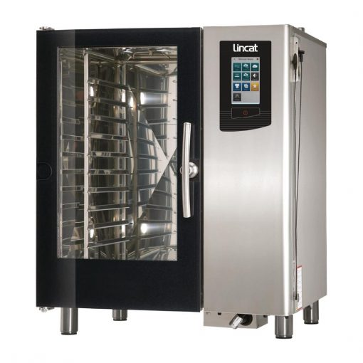 Lincat Visual Cooking Natural Gas Boiler Countertop Combi Oven 10 Grid LC110B with Install