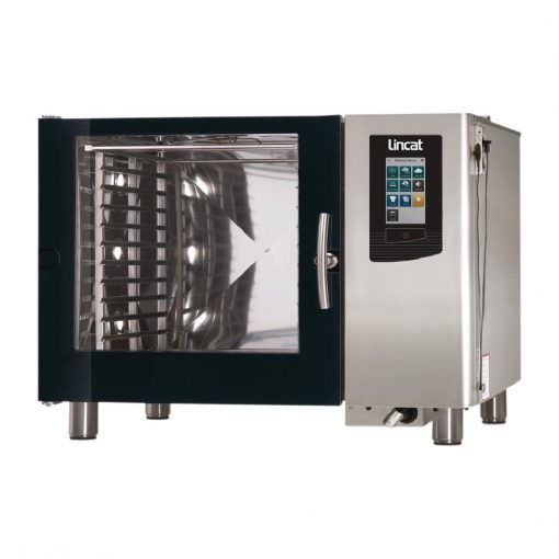 Lincat Visual Cooking Natural Gas Injection Countertop Combi Oven 6 Grid LC206I with Install