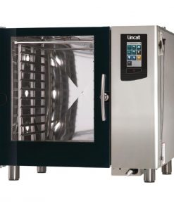 Lincat Visual Cooking Natural Gas Injection Countertop Combi Oven 10 Grid LC210I With Install