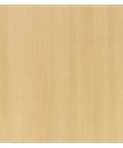 Werzalit Pre-drilled Square Table Top  Planked Beech 600mm (CE156)