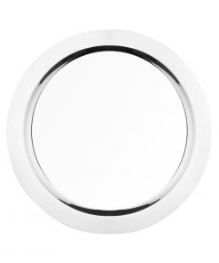 Olympia Stainless Steel Round Food Presentation Tray 400mm (CN718)
