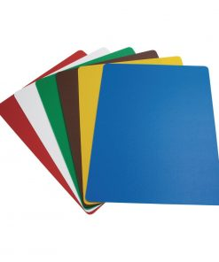 Hygiplas Colour Coded Chopping Mats Set Large (Pack of 6) (CP521)
