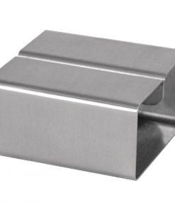 Stainless Steel Square Menu Holder (DM222)