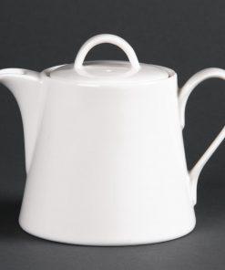 Lumina Fine China Beverage Pots 425ml (Pack of 4) (DP959)