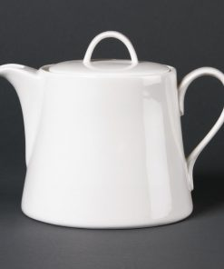 Lumina Fine China Beverage Pots 880ml (Pack of 2) (DP961)