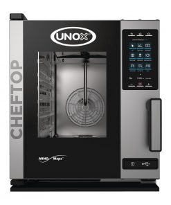 Unox Cheftop MIND Maps Plus Combi Oven 5xGN 1/1 with Commissioning (DT383-2Y)