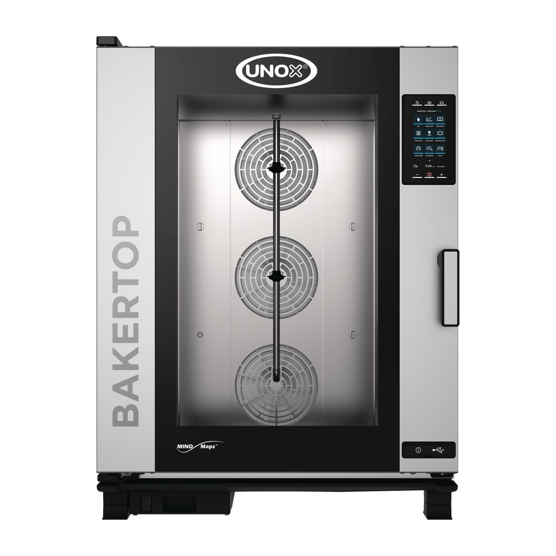Unox BAKERTOP MIND Maps Plus 10x 600x400 Electric combi with Install (DT397-IN)