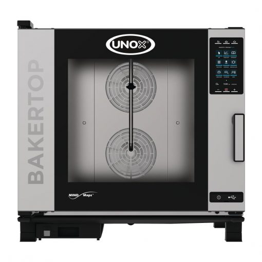 Unox BAKERTOP MIND Maps Plus 6x 600x400 Gas Combi with Install (DT405-IN)