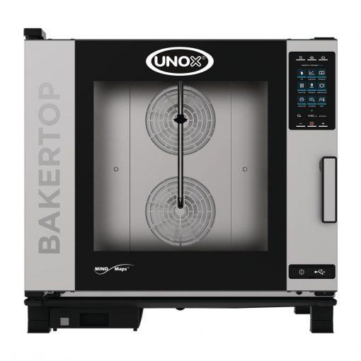 Unox BAKERTOP MIND Maps Plus 6x 600x400 Gas Combi (DT405-MO)