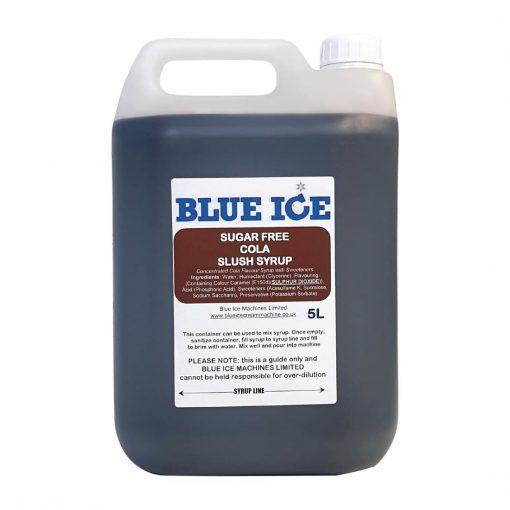 Blue Ice Slush Syrup ColaSugar Free 5Ltr (8 Pack) (FC419)