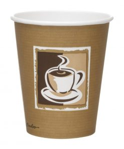 Benders Caffe Disposable Hot Cups 225ml / 8oz (Pack of 1000) (GF050)