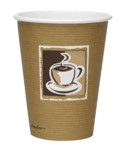 Benders Caffe Disposable Hot Cups 340ml / 12oz (Pack of 1260) (GF052)