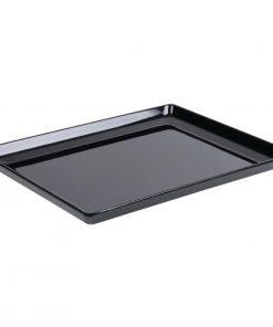 APS Float Melamine Tray Black GN 1/1 (GF075)