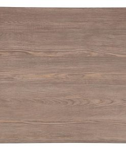 Bolero Pre-drilled Square Table Top Vintage Wood 600mm (GR323)
