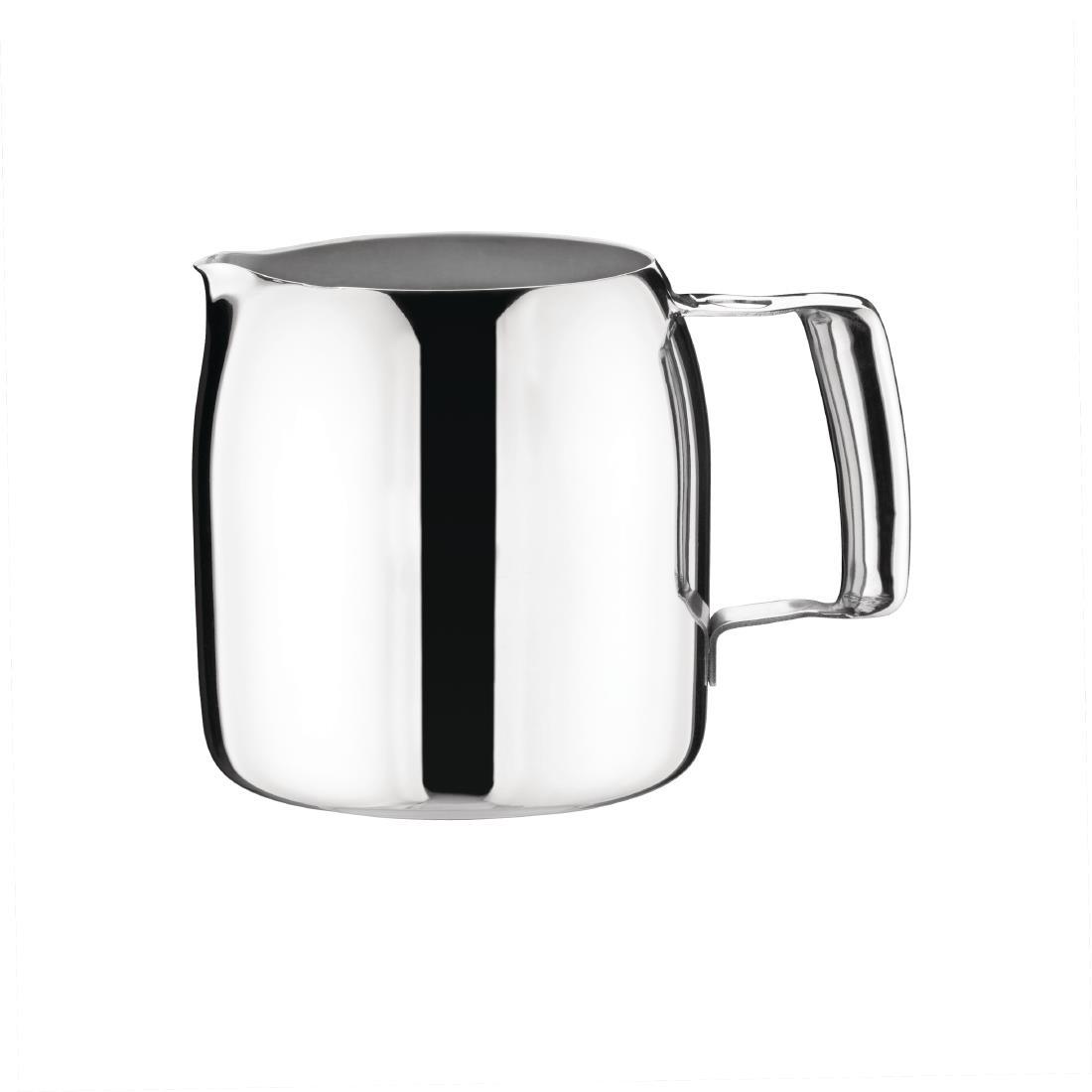 Olympia Cosmos Milk Jug Stainless Steel 340ml (J326)