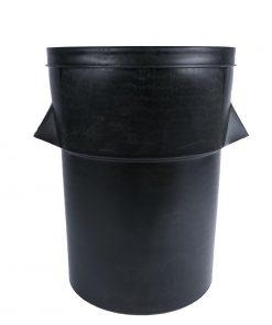 Black Plastic Tuffbin 94Ltr (J649)