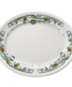 Churchill Buckingham Sumatra Oval Platters 254mm (Pack of 12) (M501)