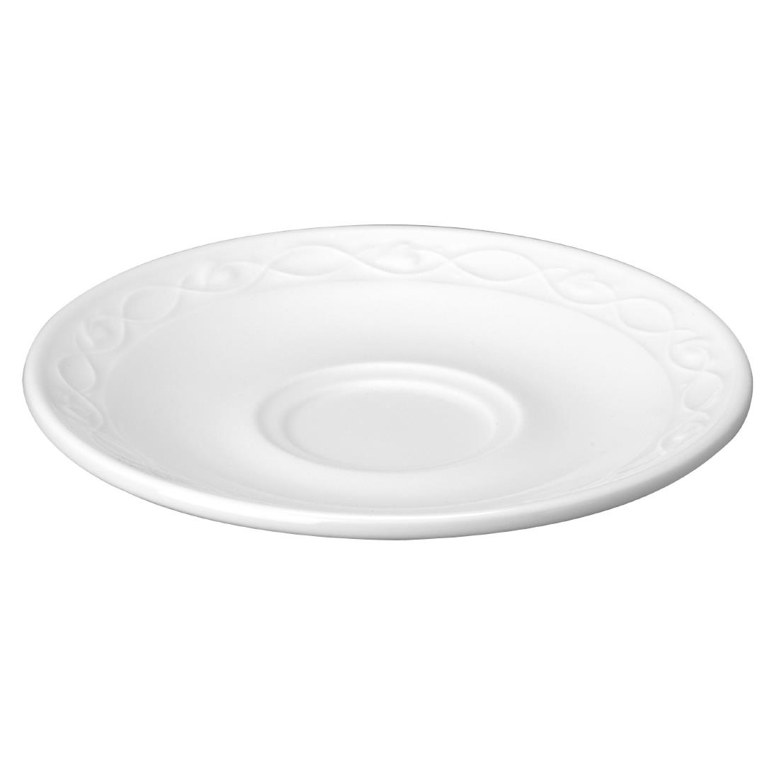 Churchill Chateau Blanc Saucers 137mm (Pack of 24) (M542)