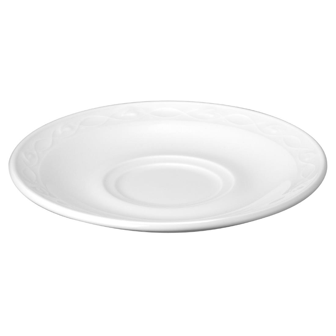 Churchill Chateau Blanc Saucers 150mm (Pack of 24) (M544)