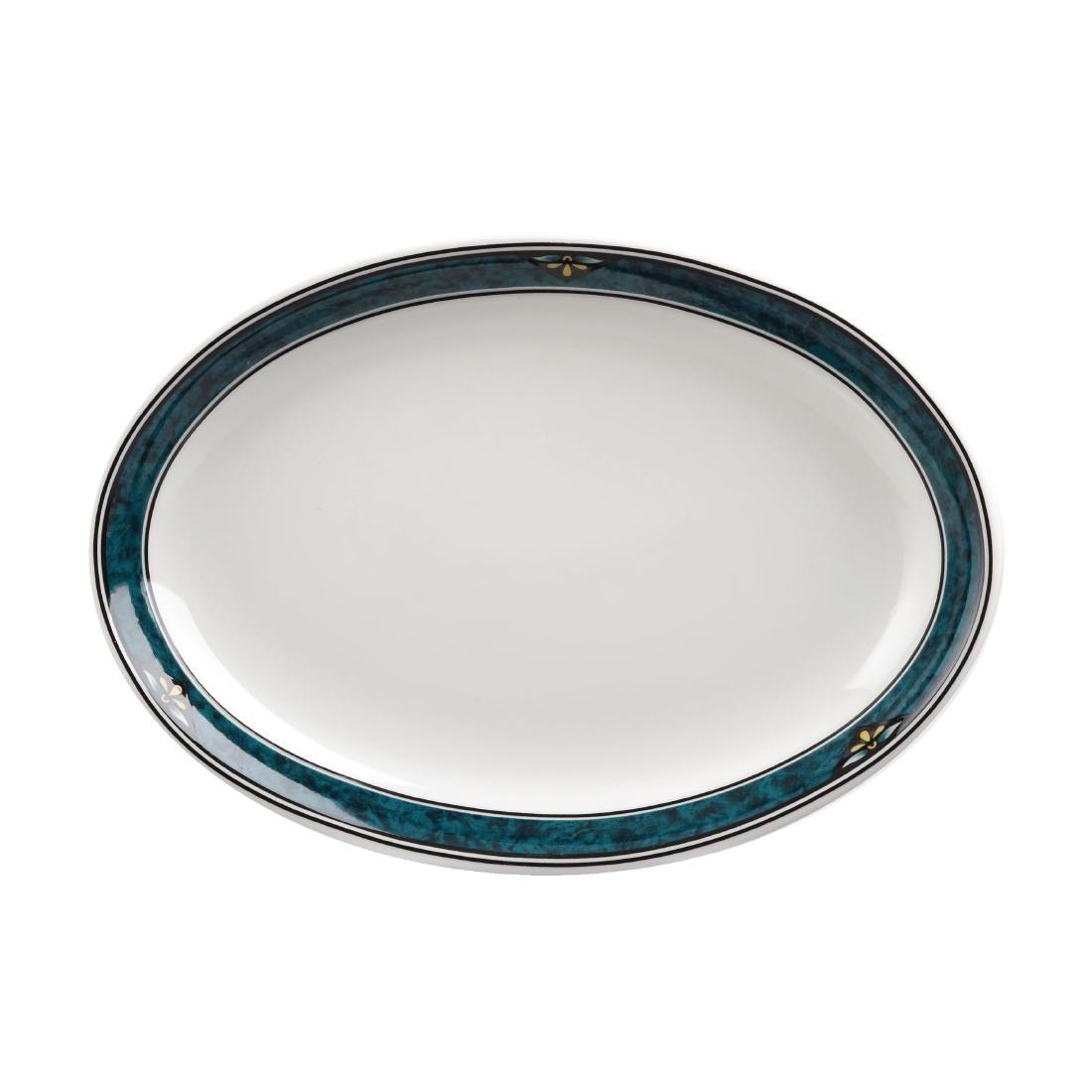 Churchill Verona Oval Platters 202mm (Pack of 12) (P630)