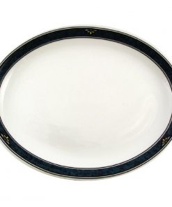 Churchill Verona Oval Platters 254mm (Pack of 12) (P647)